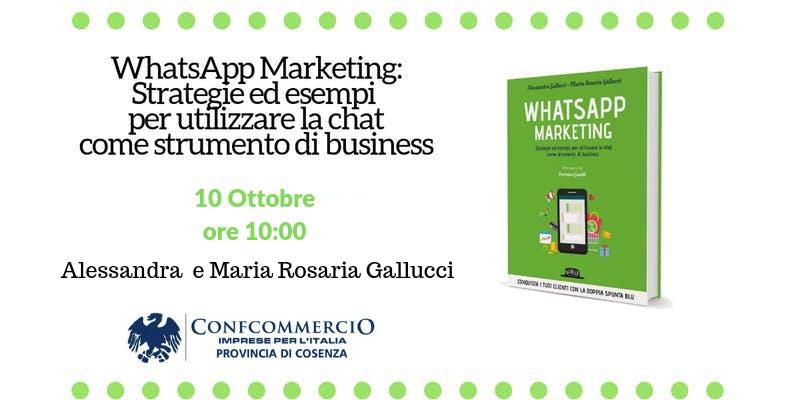 Workshop WhatsApp Marketing Cosenza